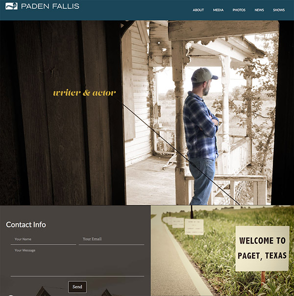 Paden Website