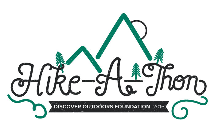 Discover Outdoors Hike-A-Thon Tshirt
