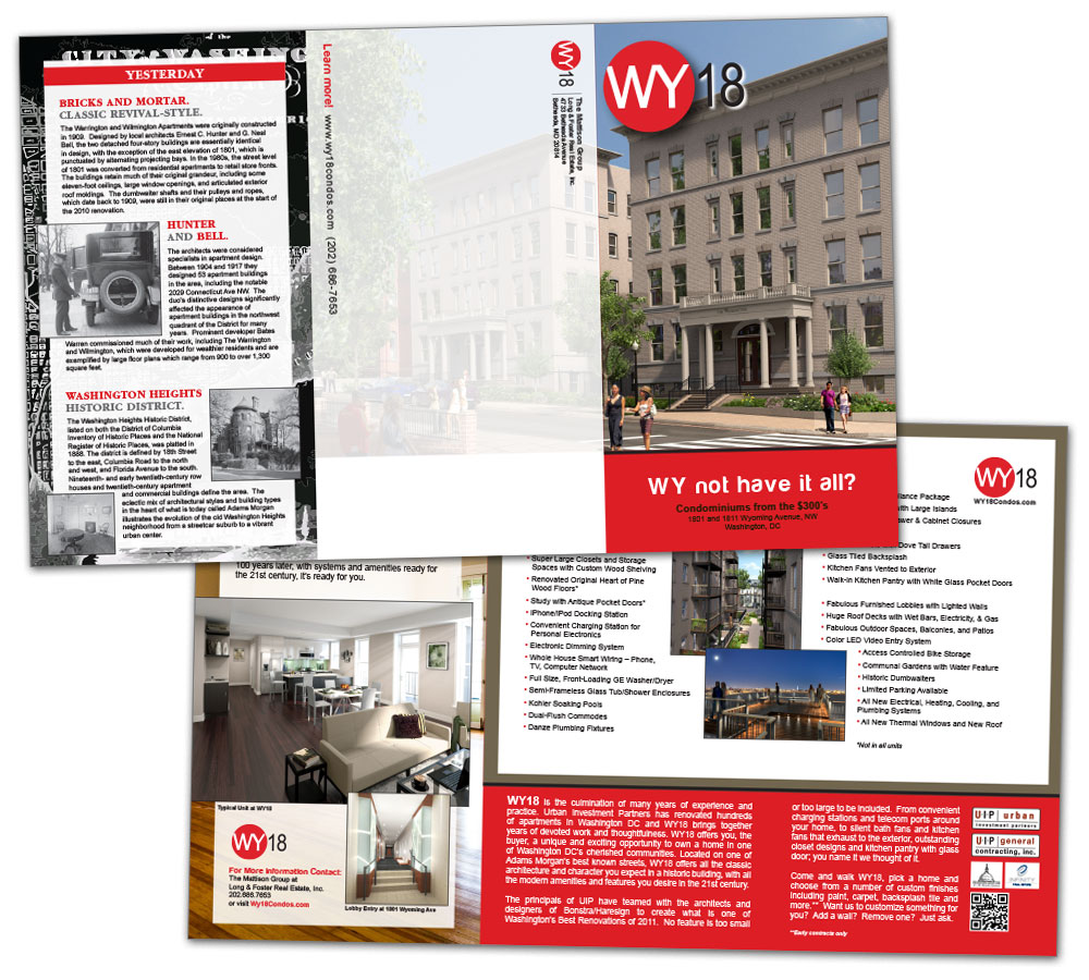 UIP WY18 Trifold Brochure